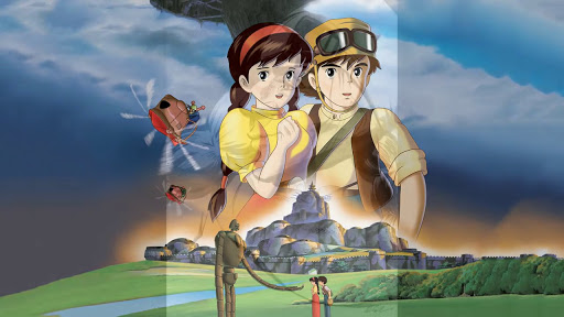 Review Anime Movie Tenkuu No Shiro Laputa