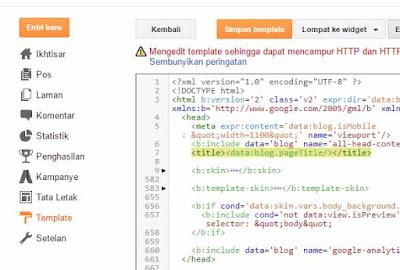 klik template