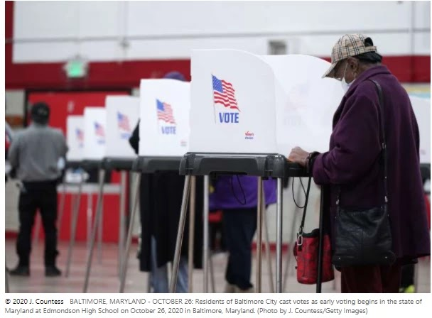As historic momentum continues, US initial voting tops the list at 60 million