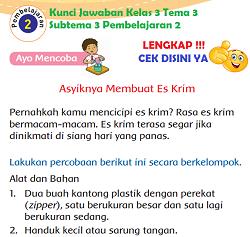 Kunci Jawaban Kelas 3 Tema 3 Subtema 3 Pembelajaran 2 www.simplenews.me