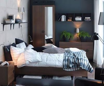 Desain Kamar Tidur 3x3