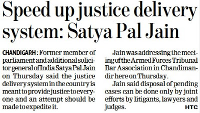 Speed up justice delivery system: Satya Pal Jain