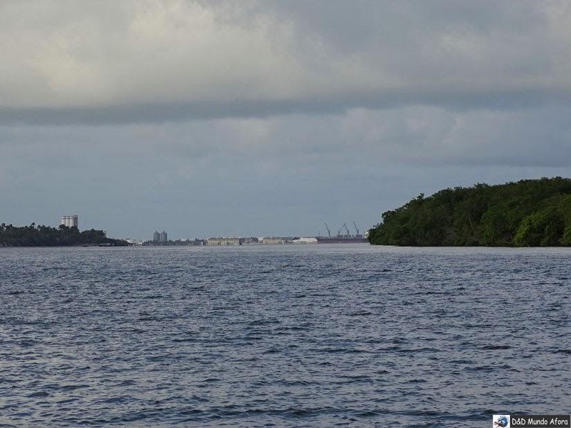 Rio Paraíba, em Cabedelo - Pôr do sol na Praia do Jacaré, Paraíba