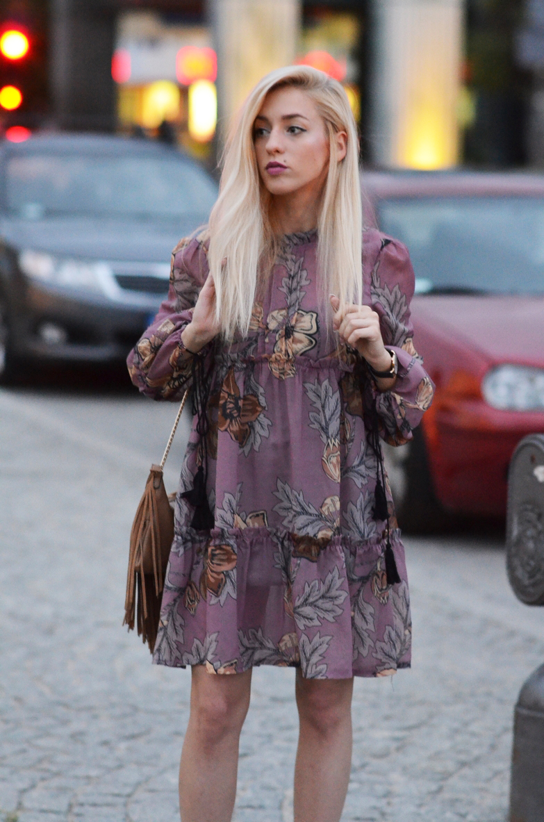 BOHEMIAN DRESS IN THE CITY