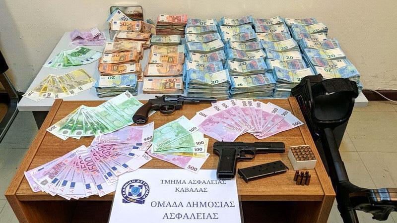 Εξιχνίαση υπόθεσης σκηνοθετημένης ληστείας με λεία 4,2 εκατομμύρια ευρώ στο Νομό Καβάλας
