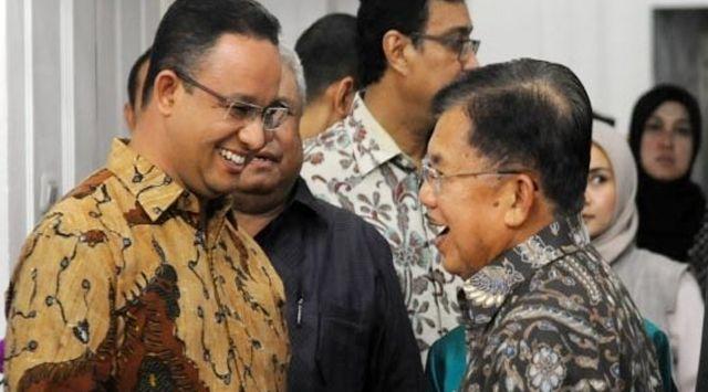 Prabowo-Sandi Gabung Jokowi, Anies-AHY Menguat di Pilpres 2024