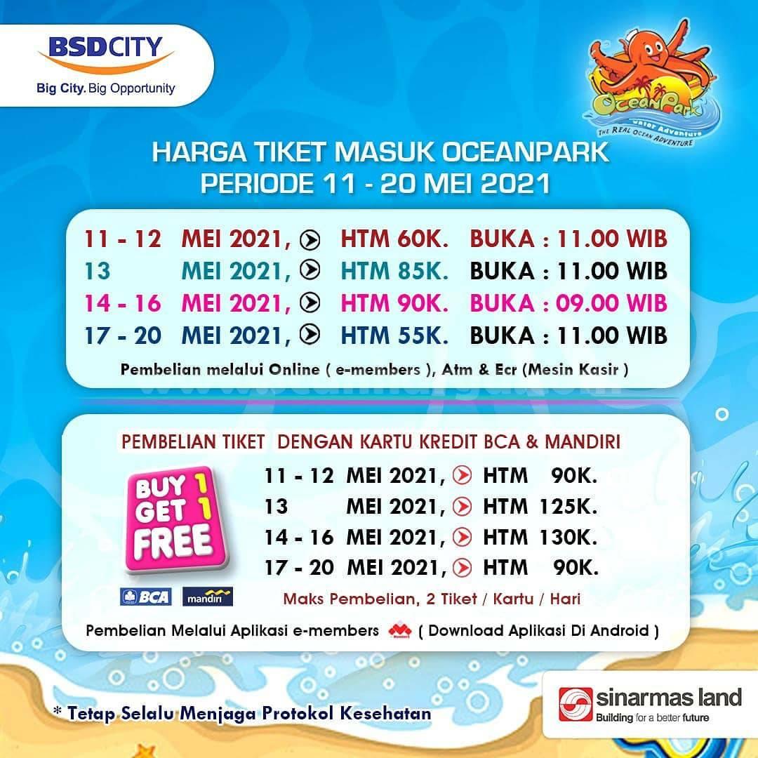 HARGA TIKET MASUK OceanPark BSD City Terbaru