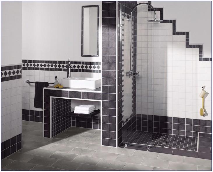 Badezimmer Fliesen Legen | moderne häuser mit satteldach