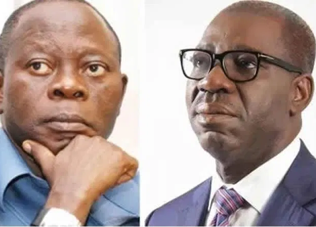 You lost political control over the state of Edo: Governor Obaseki to Oshiomhole