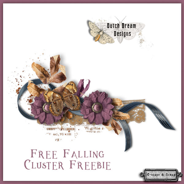 FREE FALLING KIT & FREEBIE - DUTCH DREAM DESIGNS