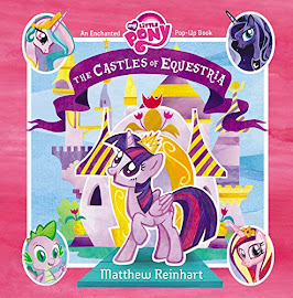 MLP The Castles of Equestria Book Media
