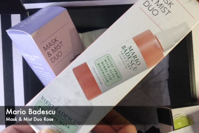 MARIO BADESCU Mask and Mist Duo, Rose