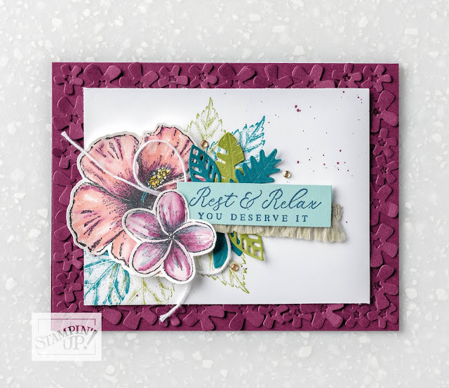 Nigezza Creates a Spotlight on Stampin' Up!s Tropical Oasis