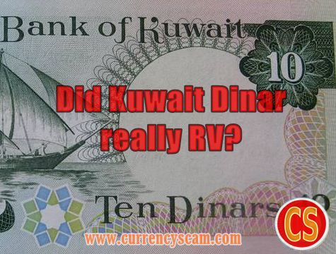 Did Kuwait Dinar Really Rv
