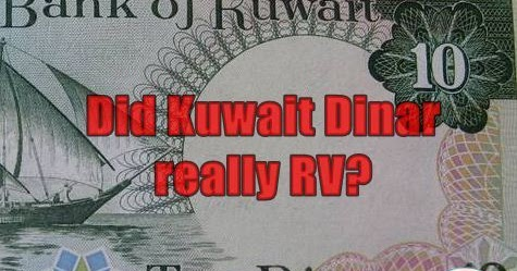 Did Kuwait Dinar Really Rv Currency Scam