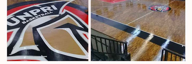pemasangan lantai kayu solid basket