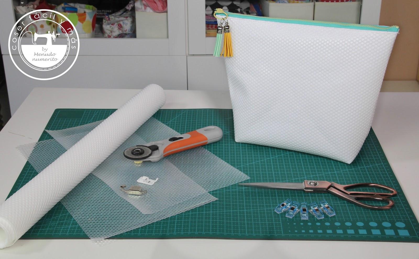 El blog de coser f cil y m s by menudo numerito - Rollo plastico transparente ikea ...