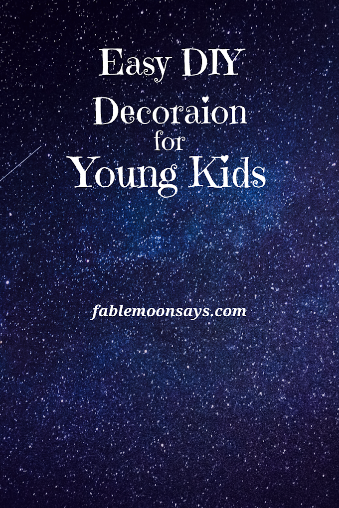 Easy DIY Decoration for Young Kids
