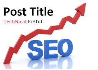 How to Write SEO Friendly BlogPost Titles