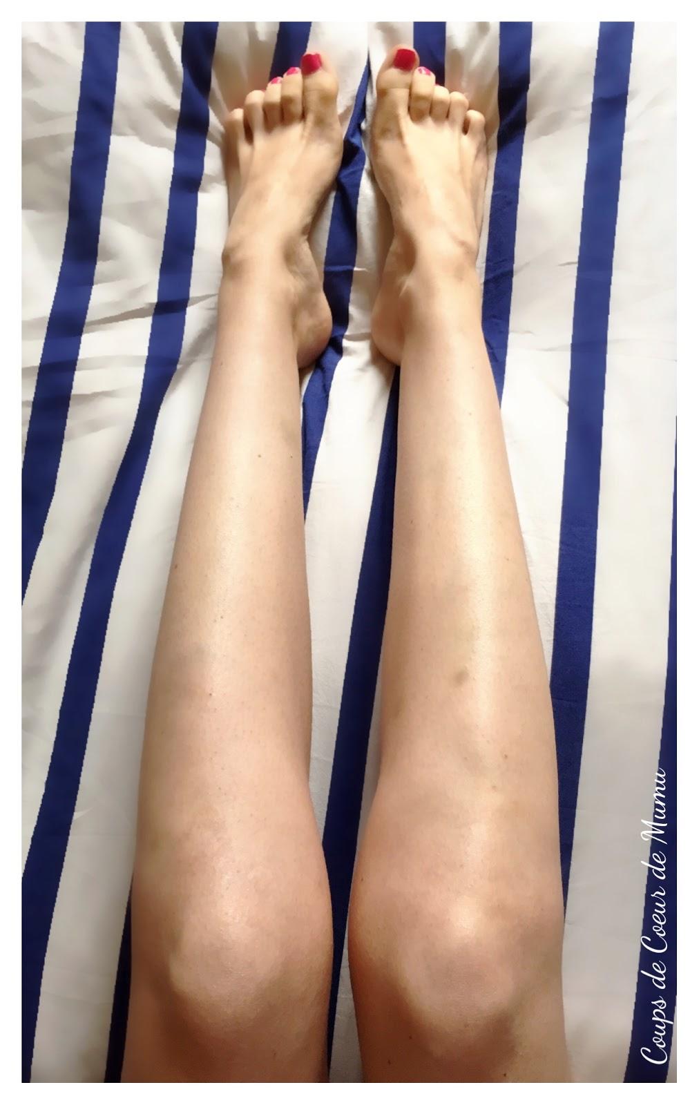 des jambes parfaites avec covermark coups de coeur de mumu. Black Bedroom Furniture Sets. Home Design Ideas