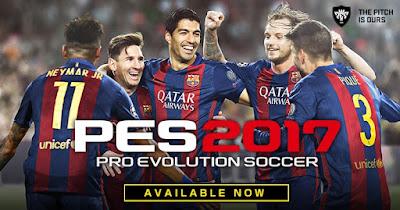 Download Pro Evolution Soccer 2017 for PC via Torrent