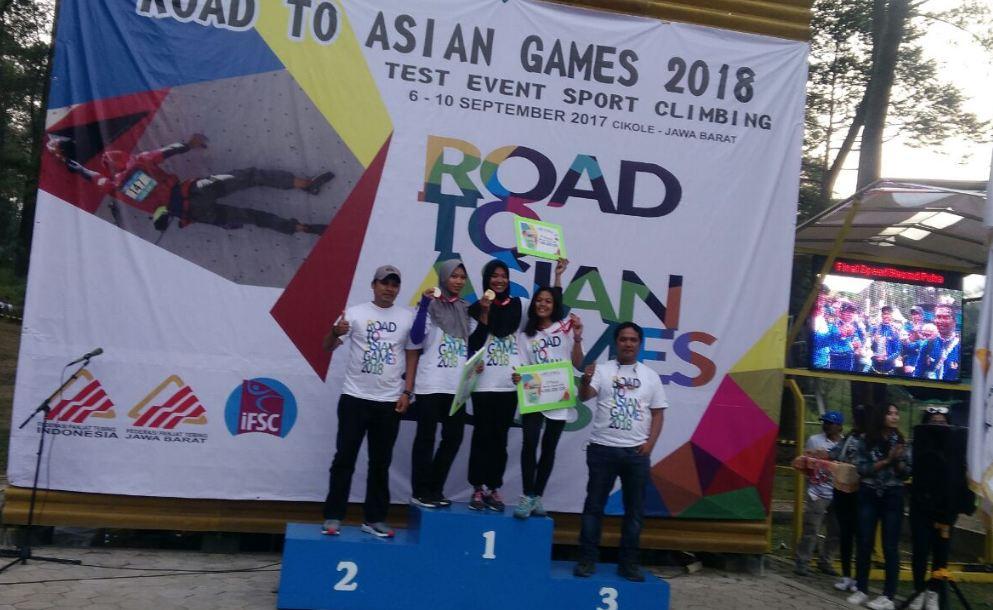 Atlet Panjat Tebing Blora Raih Medali Di Ajang Road To Asian Games