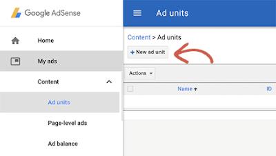 الشروع في العمل مع AdSense
