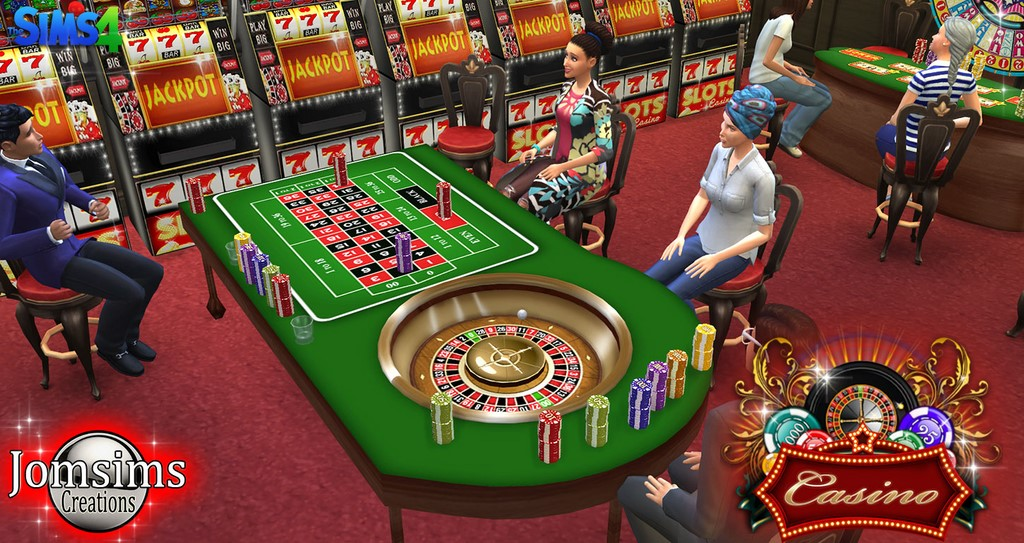 My Sims 4 Blog Decorative Casino Set by JomSims