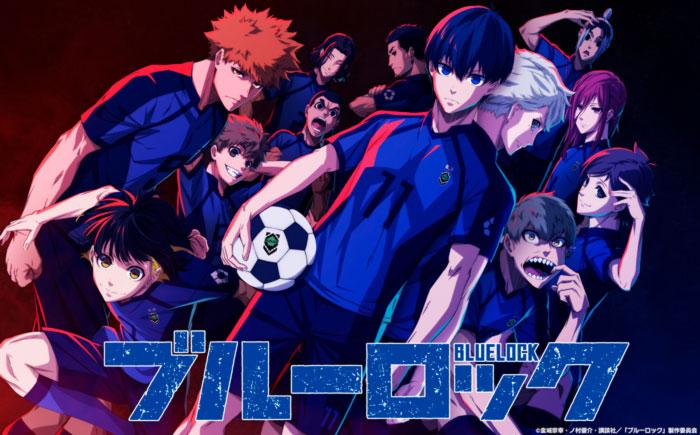 Blue Lock anime - poster