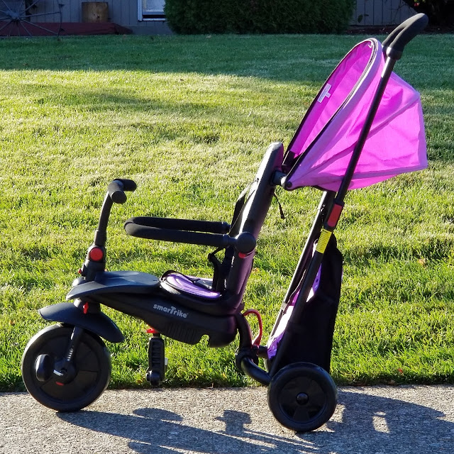 smarTrike 7 in 1 Folding Trike Review & Giveaway