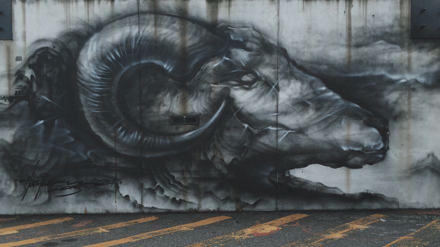 A incrível arte de Hua Tunan