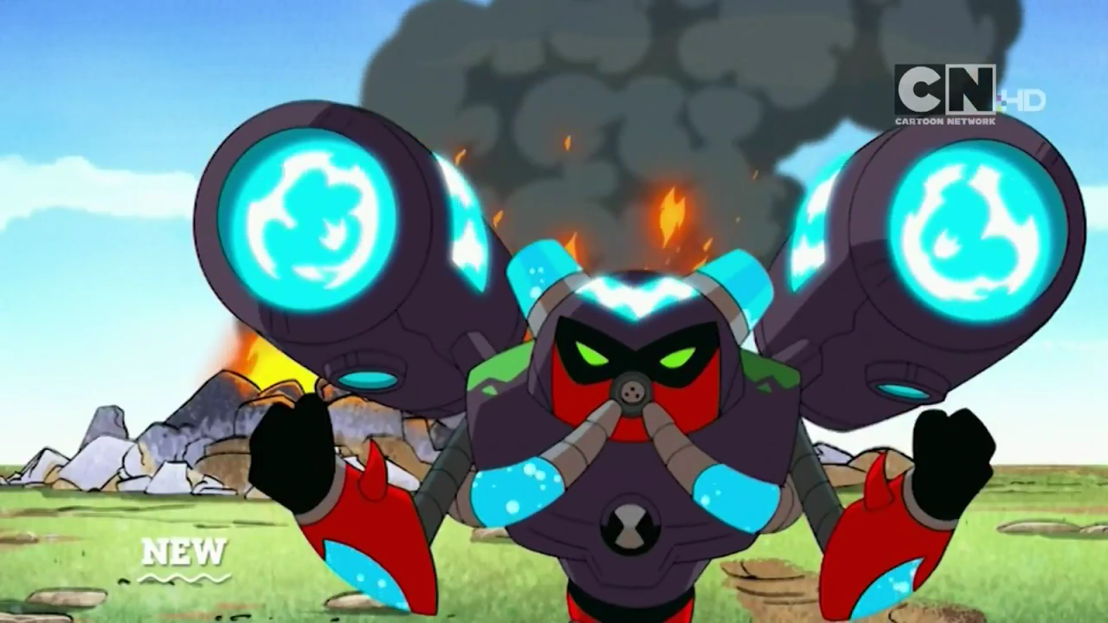 Omninews new ben 10 reboot season 2 trailer enhanced aliens overflow cannons voltagebd Image collections