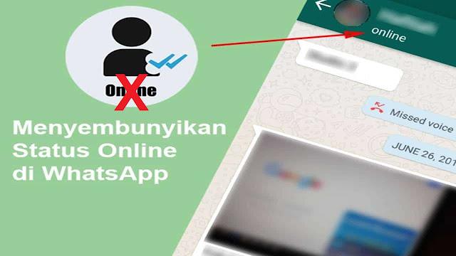 Cara Menyembunyikan Status Online WhatsApp (WA)
