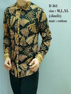 baju batik pria bali