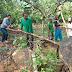 A pedido do Vereador Romildo do Hospital, Prefeitura de Ibirataia faz recuperação de ponte próximo a fazenda de Júlio Sandes