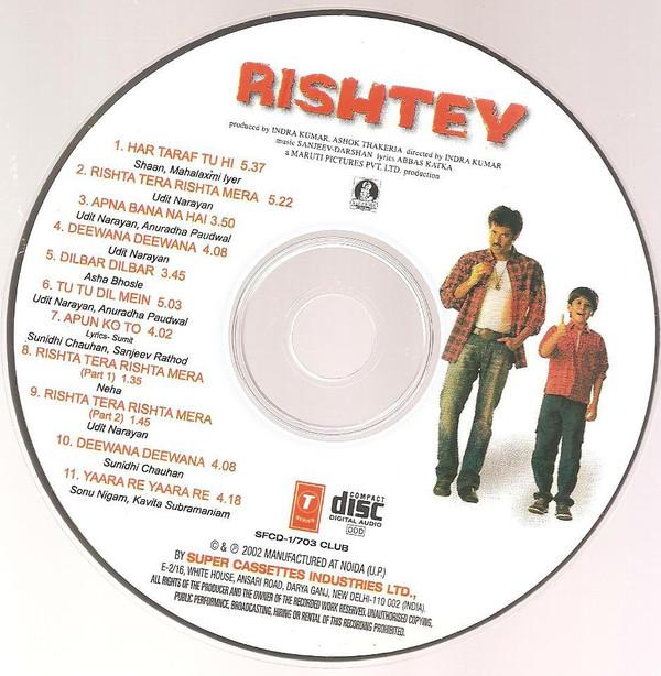 Download Rishtey [2002-MP3-VBR-320Kbps] Review