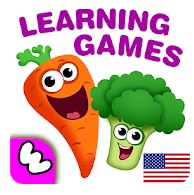 Funny Food 2 Educational Games For Toddler logo