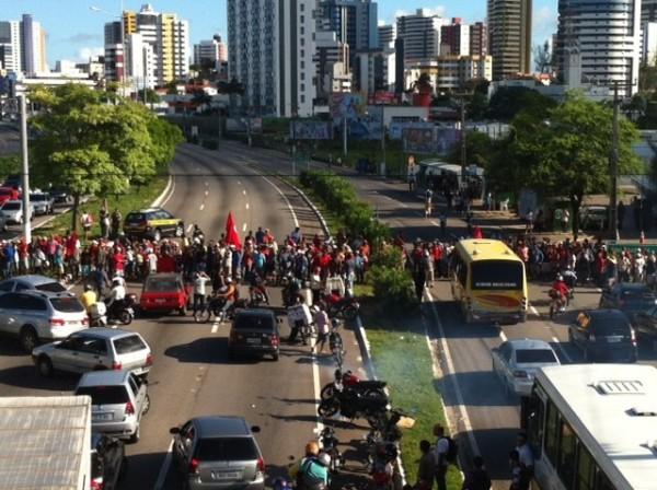 Resultado de imagem para Justiça proíbe interdição de rodovias durante protestos no RN nesta sexta