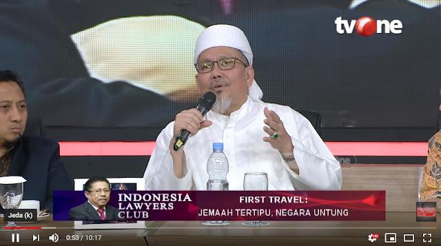 ILC: Ustadz Tengku Zulkarnain Soal First Travel