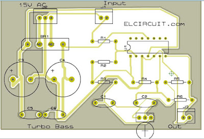 Turbo Bass PCB Layout Design