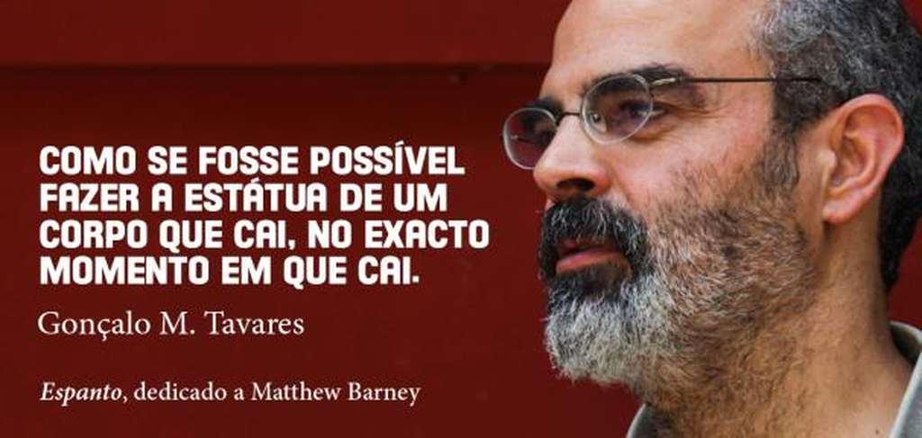 Dicionário de Artistas - Espanto, dedicado a Matthew Barney - Por Gonçalo M. Tavares
