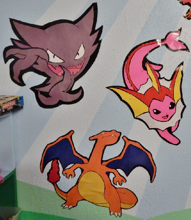 Pokemon Haunter and Charizard