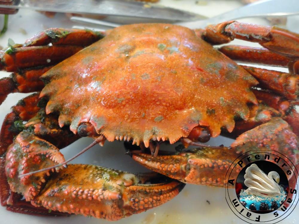 Salade de miettes de crabe à la mayonnaise au gingembre (pas à pas en photos)