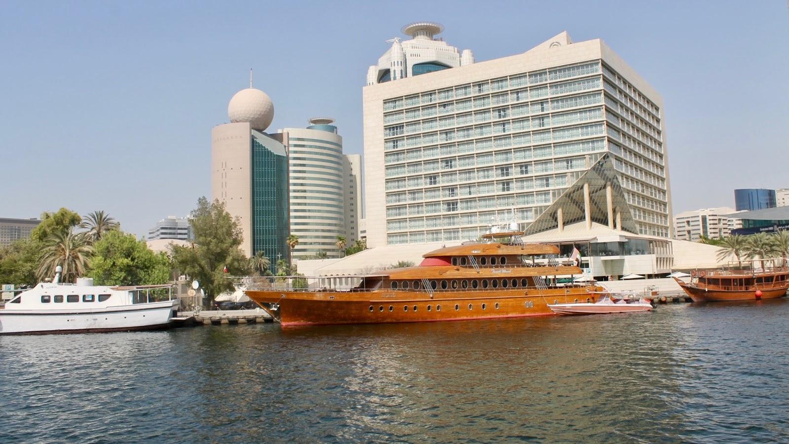 Dubai Boat Cruise and Architecture