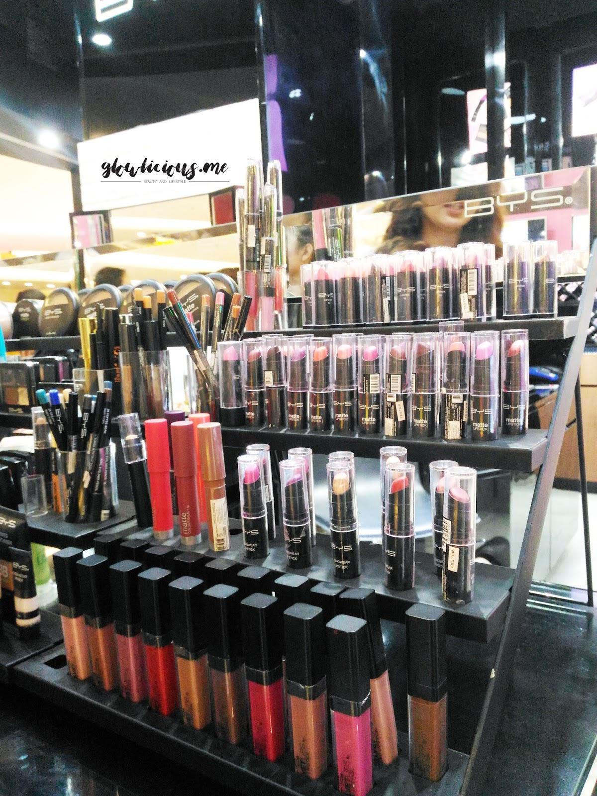beragam jenis produk BYS Cosmetics