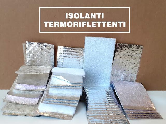 Materiali isolanti termoriflettenti