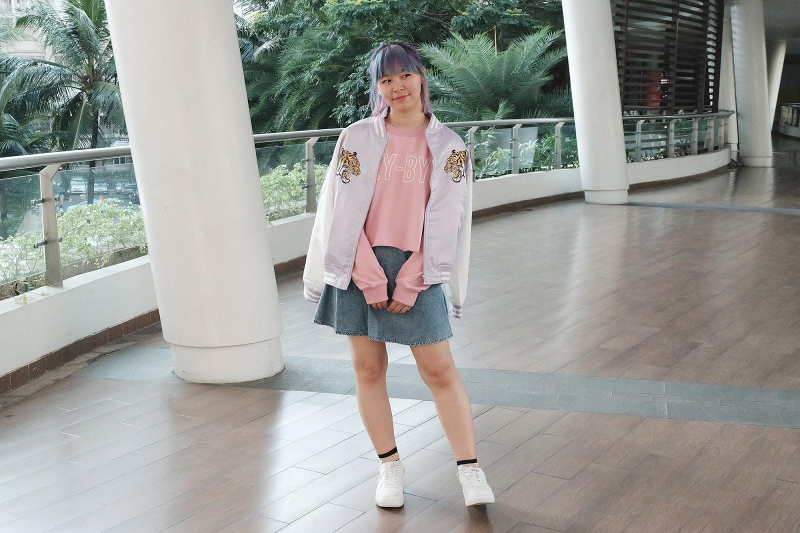 Hey Bye Pastel Sukajan Outfit | www.bigdreamerblog.com