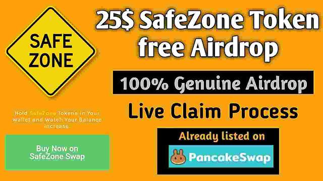 safe zone airdrop