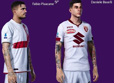 PES 2021 Tattoo Daniele Baselli & Fabio Pisacane