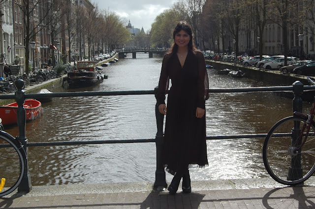 kelly fountain, fashion, blogger, Amsterdam, Europe, canals